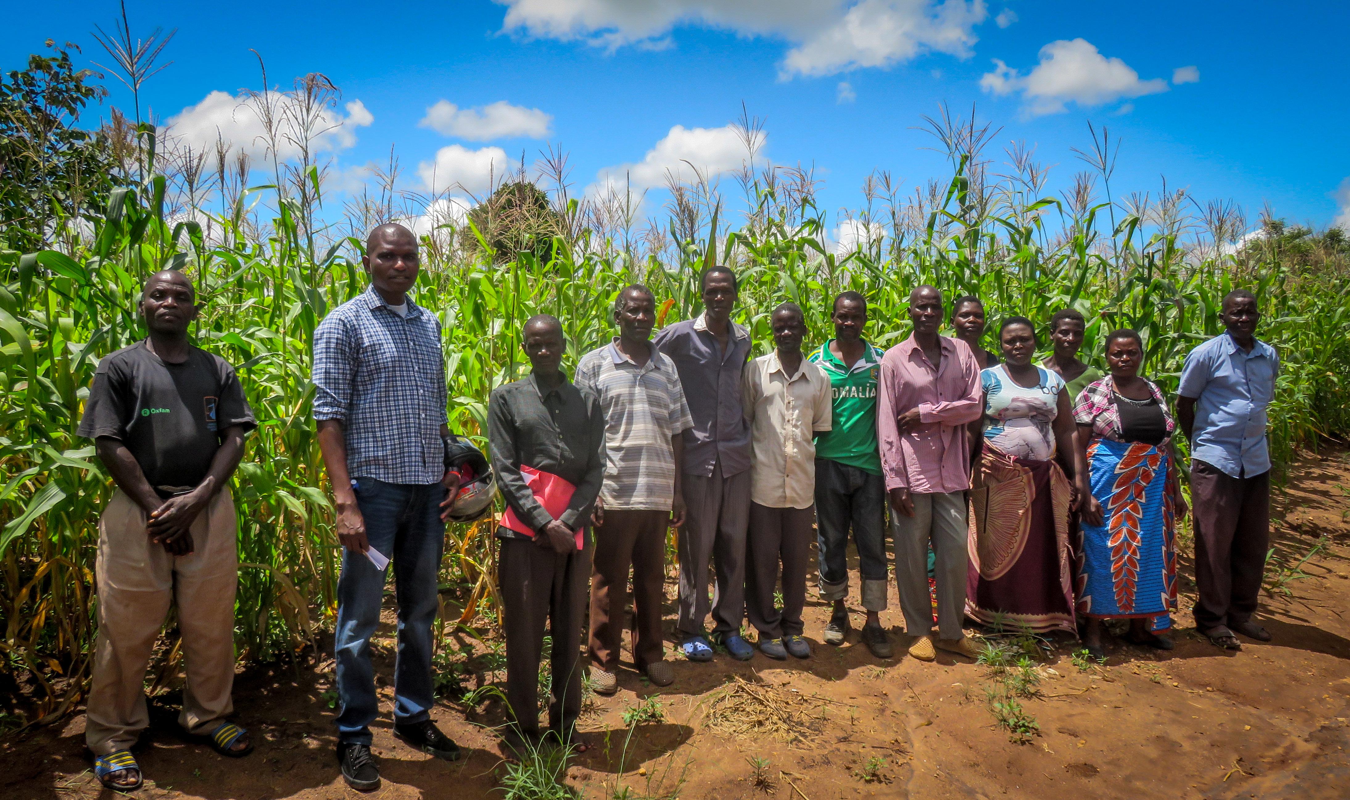 Gruppo di agricoltori