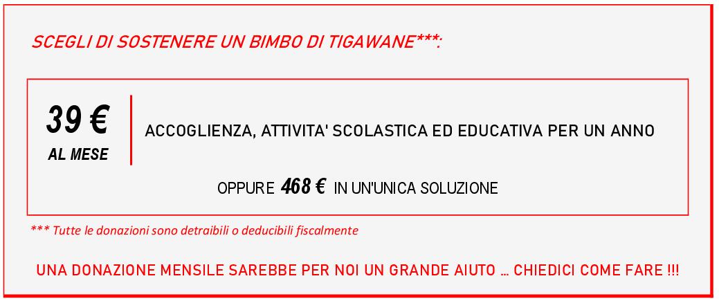 tabella sostegno Tigawane
